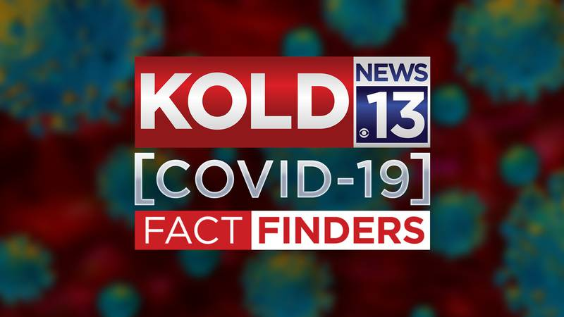 Logo for the KOLD News 13 COVID-19 Fact Finders.