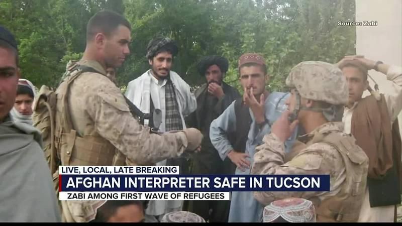 Afghan interpreter safe in Tucson