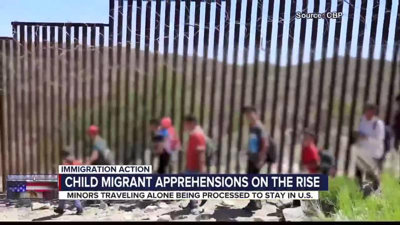 Migrant children detained