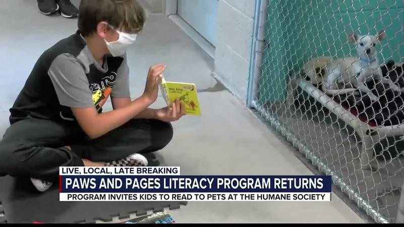 HSSA program gets pets out of their shells and strengthens reading skills