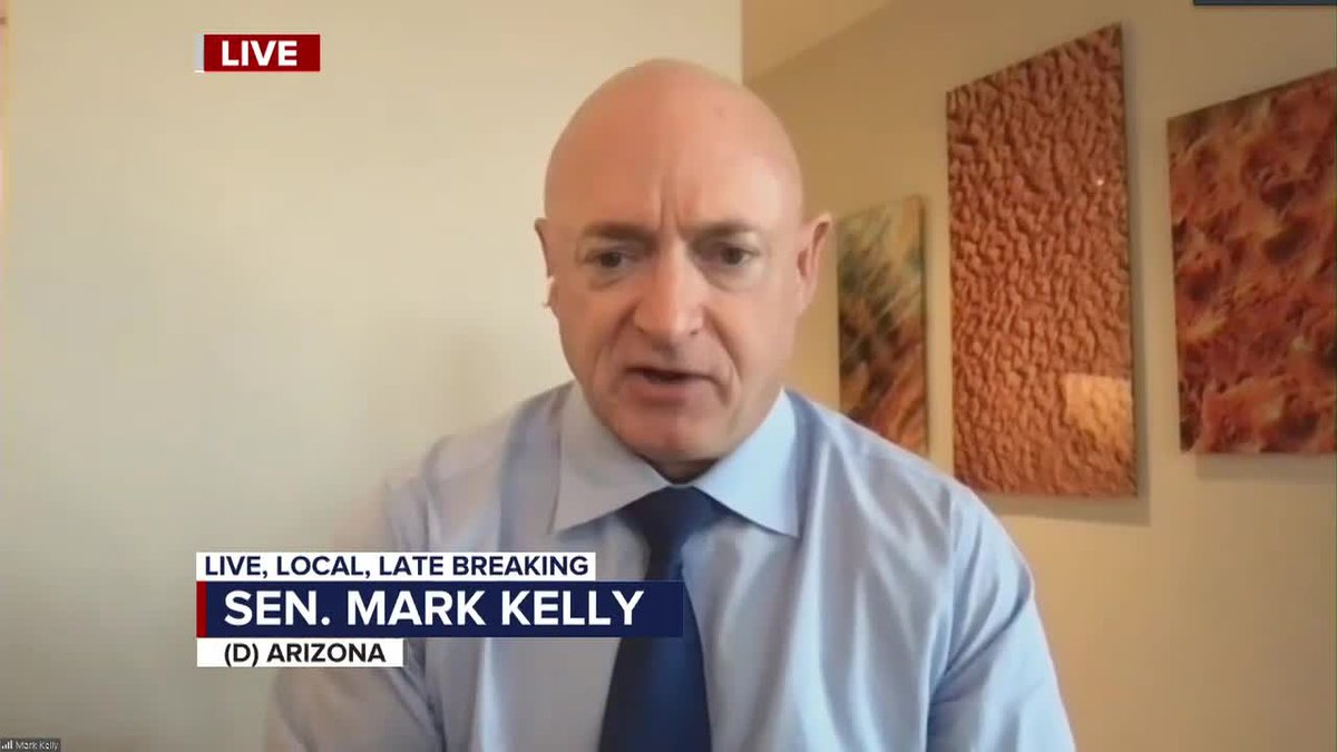 Sen. Mark Kelly, D-Ariz., won a special election last year to replace the late Sen. John McCain...