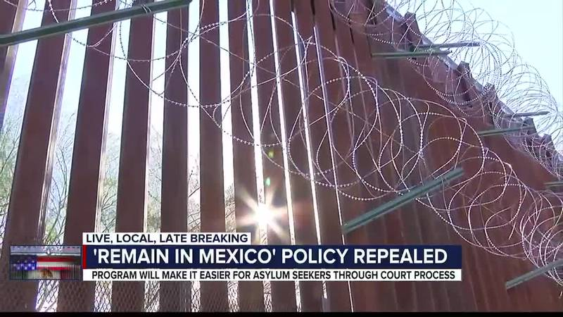 Remain in Mexico program repealed