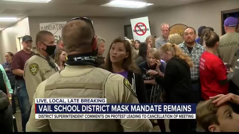 Vail Superintendent responds to protest