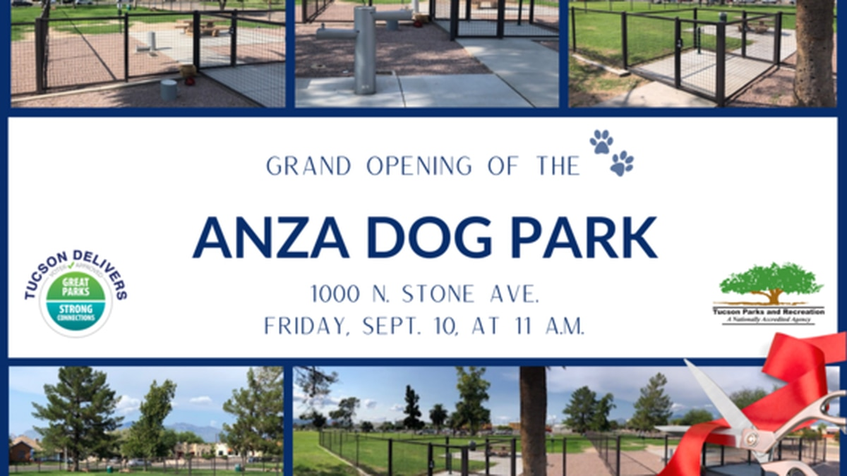 Tucson dog owners can rejoice as a new dog park will open in the city.