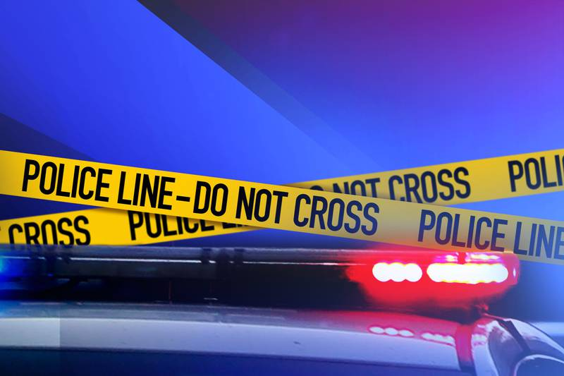 Authorities say one man was hospitalized after the stabbing.