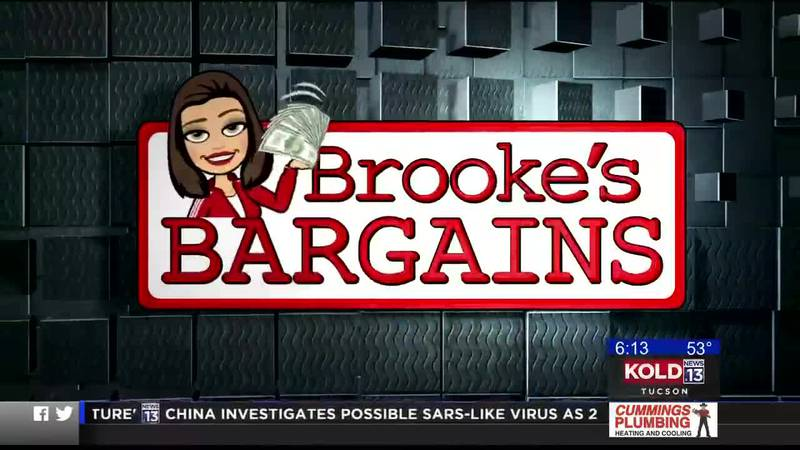 Brooke's Bargains: Saving some money this New Year