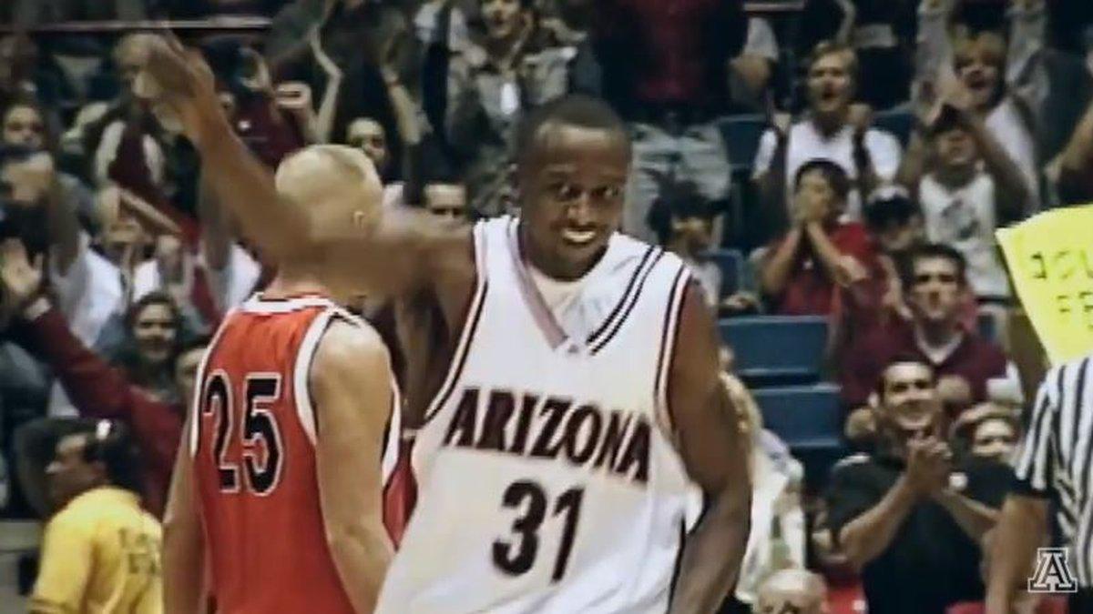 Jason Terry played for the Arizona Wildcats from 1995-99. (Source: Arizona Athletics)