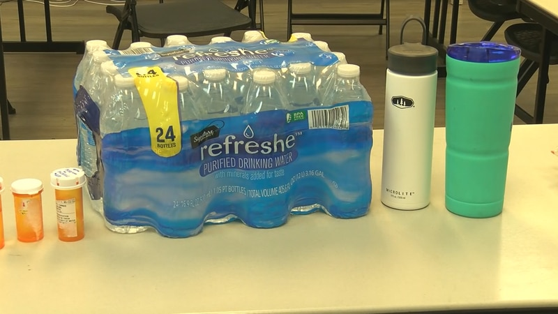 After the excessive heat this week, groups are already in need of more water.