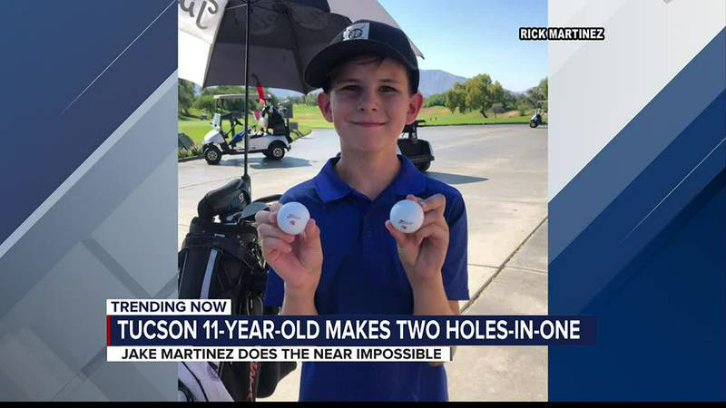 Tucson 11-year-old scores 2 aces in one round