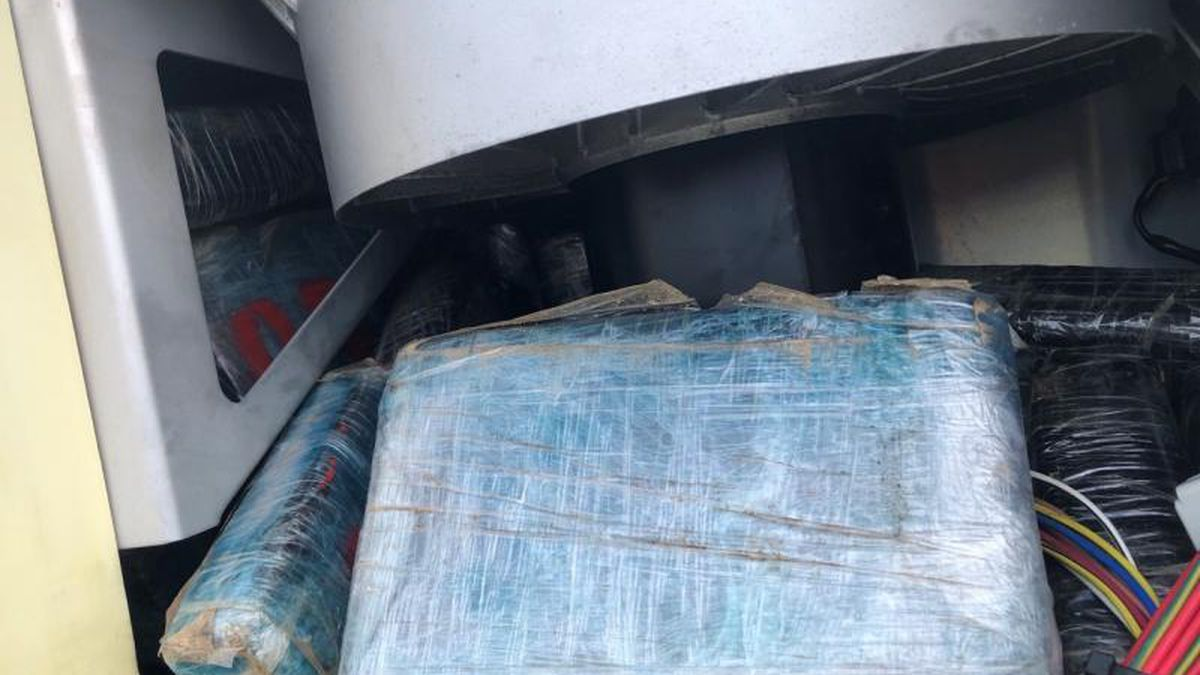CBP Seizes 135 Pounds of Cocaine Concealed inside a Refrigerated Container arriving from the...