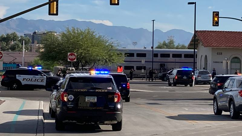 The man who fatally shot a federal agent inside an Amtrak train in Tucson in early October...