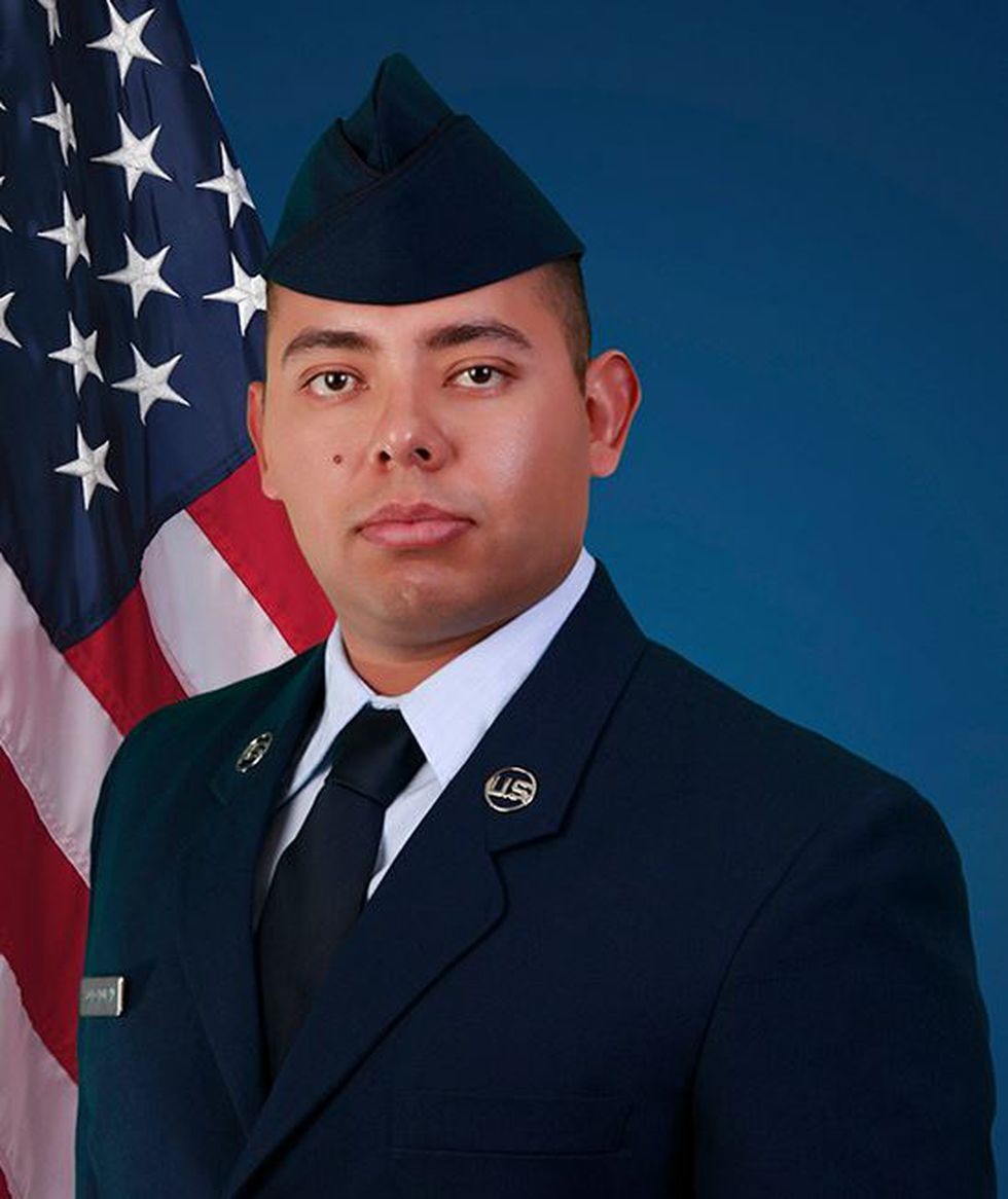 U.S. Air Force Reserve Airman 1st Class Abraham A. Soto Duran (Source: U.S. Air Force)