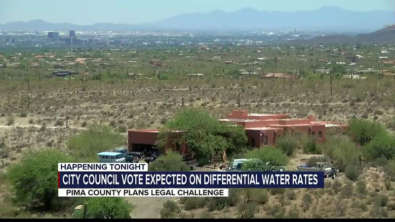 Pima County may take the city of Tucson to court over a proposal to charge residents outside...