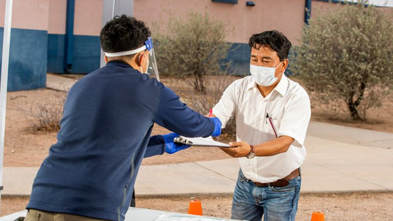 Pima County Health Department is putting up Community Pop-up Testing Centers daily around the...