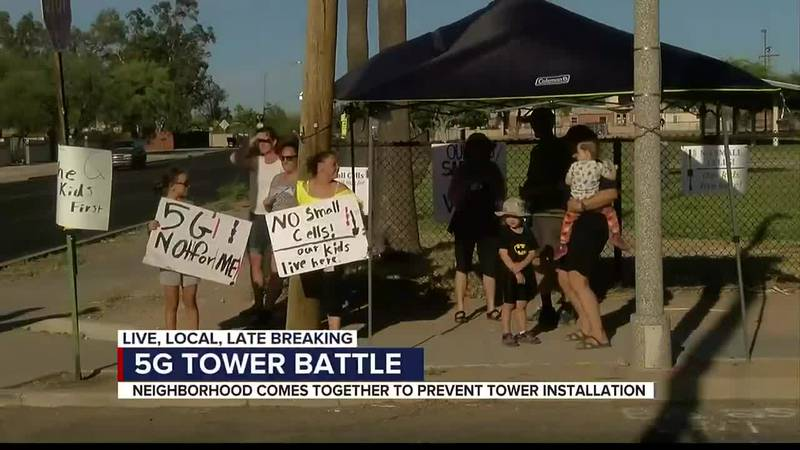 Midtown residents fight telecom companies, occupy 5G tower sites