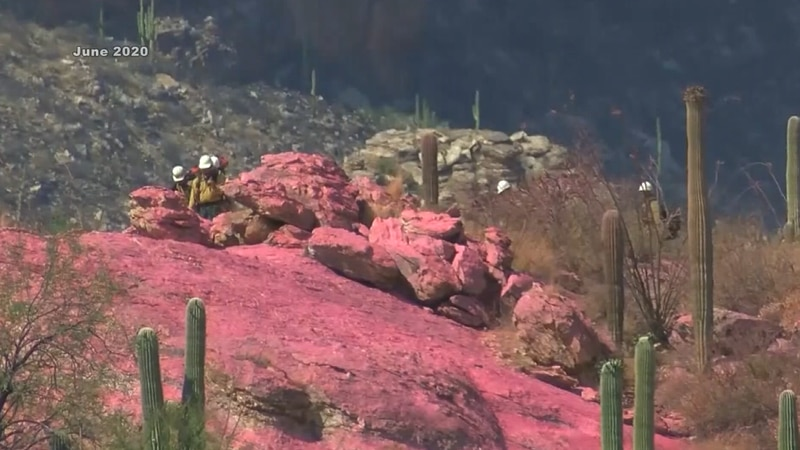 The Bureau of Land Management said the fire risk in Arizona will soon hit a critical point