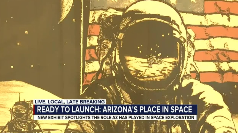 """""""Ready to Launch: Arizona's Place in Space"""" investigates the impact that the people, landscape,..."""