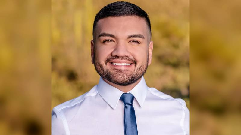 Rep. Andres Cano, 28, serves District 3 in the Arizona House of Representatives.
