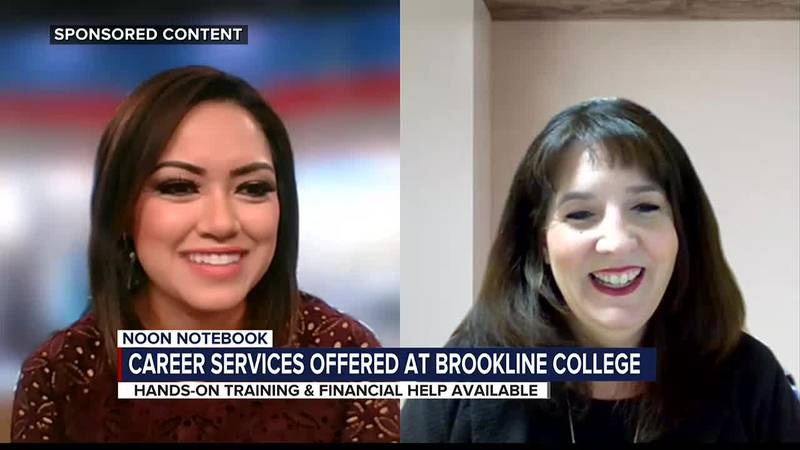 KOLD Noon Notebook: Career services offered at Brookline College