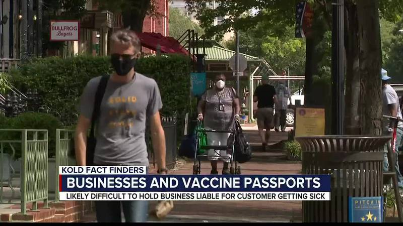 KOLD Fact Finders: Businesses and vaccine passports