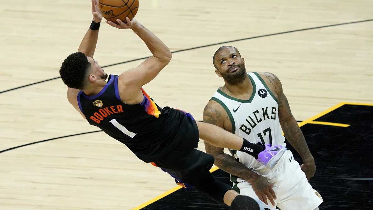 Phoenix Suns guard Devin Booker dominated again Thursday night as the Suns took 2-0 series lead...