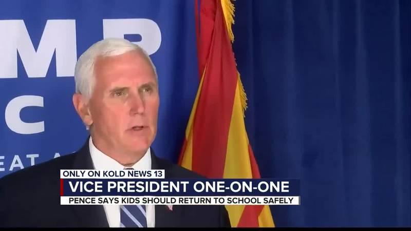 Vice President Pence visits Tucson, AZ