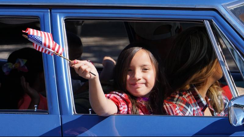 The 2018 Veterans Day parade was held Monday, Nov. 12 in downtown Tucson. (Source: Paul Durrant...