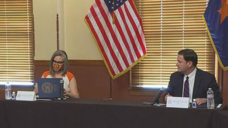 Secretary of State Hobbs and Governor Ducey certify 2020 election results