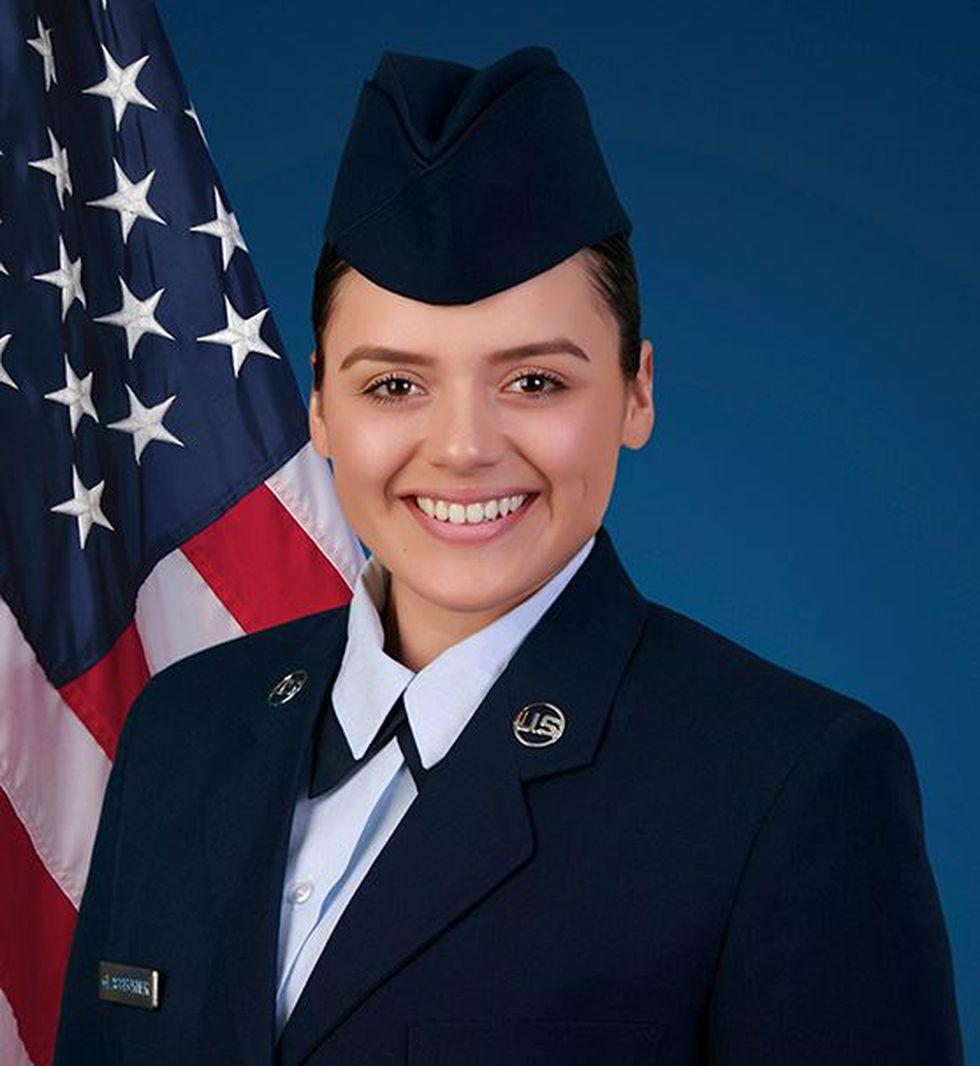 U.S. Air Force Airman Sierra J. Glassburner (Source: U.S. Air Force)