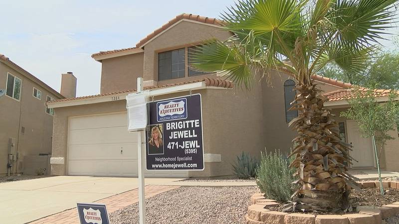 The housing market in Tucson is hot and sellers are receiving bids far above list price.