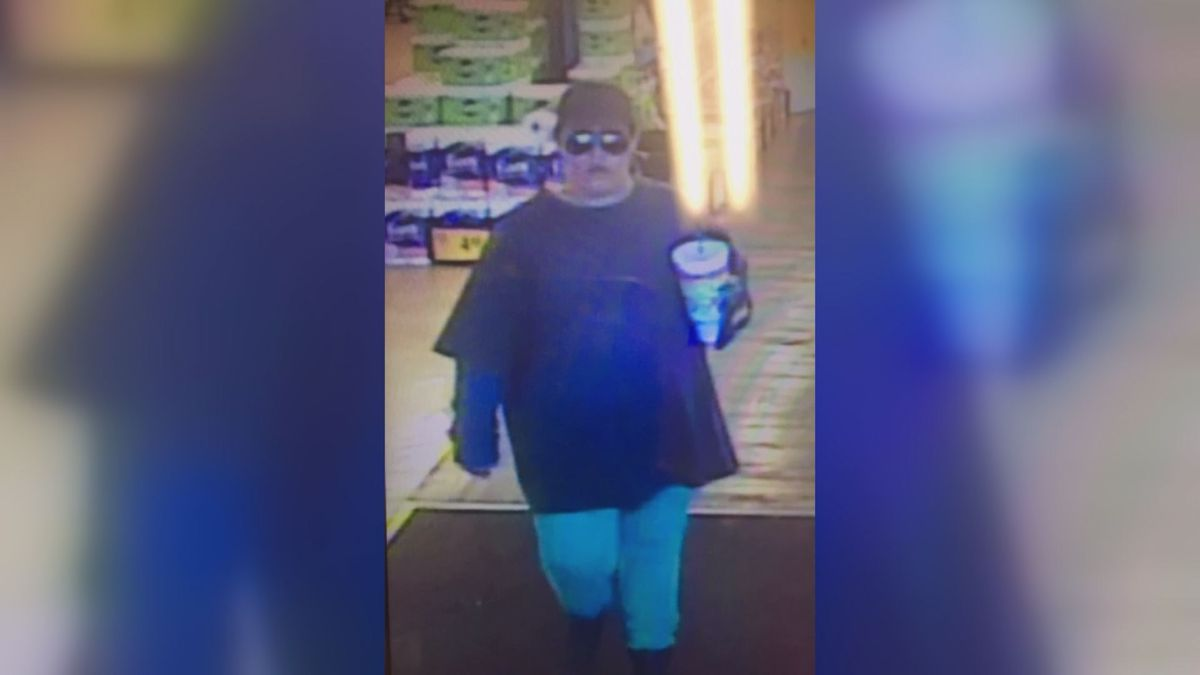 The woman is suspected of robbing the same location last September.