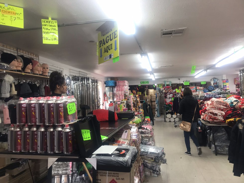 Shop owners in San Ysidro, CA, are hoping  the drop in cross-border business isn't permanent....
