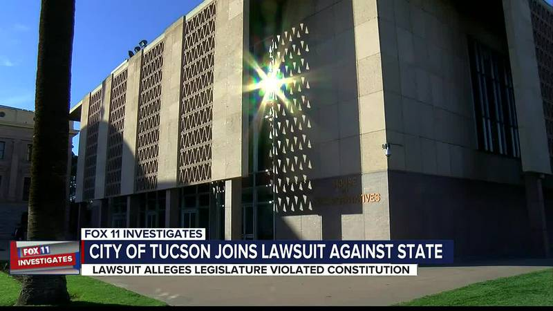 City of Tucson joins lawsuit against state