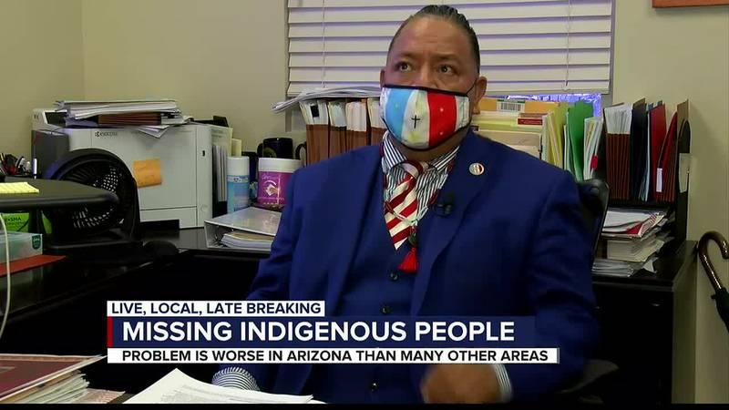 Missing indigenous people