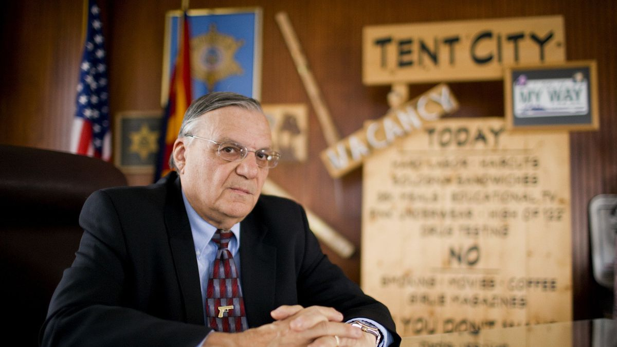 """Former Arizona Sheriff Joe Arpaio claimed """"nobody is higher than me"""" and told his deputies they..."""