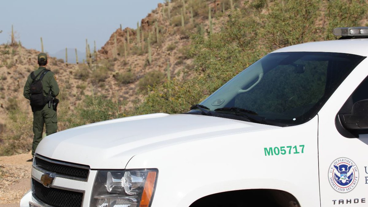 Two U.S. Border Patrol agents patrolling in Southern Arizona were assaulted in separate...