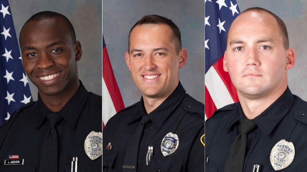 Jonathan Jackson, Samuel Routledge and Ryan Starbuck resigned from the Tucson Police Department...