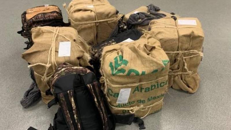 CBP agent seized 301 pounds of marijuana.