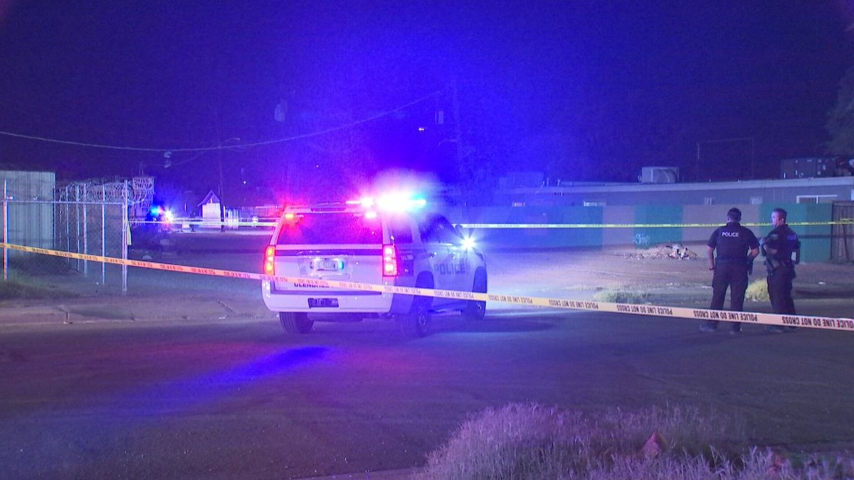 A 25-year-old man was taken to a hospital with life-threatening injuries after police shot him...