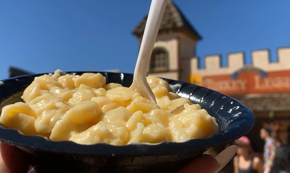 New Smoked Gouda Mac-n-Cheese at the Arizona Renaissance Festival