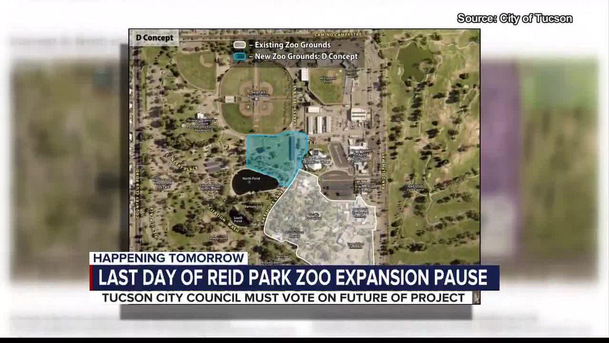 Tucson City Council set to vote on Reid Park Zoo expansion project