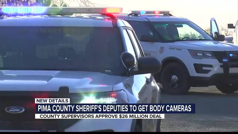 Pima County sheriff's deputies to get body cameras