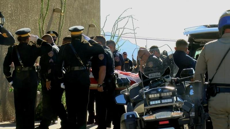 Fallen Officer Jeremy Brinton Honored